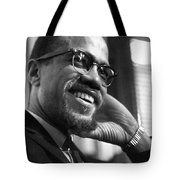 Malcolm X (1925-1965) Tote Bag by Granger