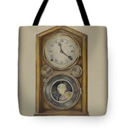 Mantel Clock Tote Bag