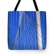 Margaret Hunt Hill Bridge In Dallas - Texas Tote Bag