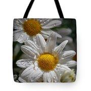 Marguerite Daisy Tote Bag
