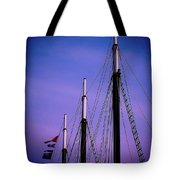 3 Masts In Halifax Tote Bag