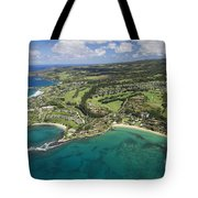 Maui Aerial Of Kapalua Tote Bag