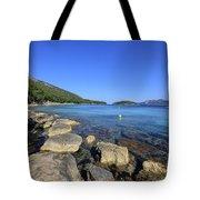 Mediterranean Seascape  Tote Bag