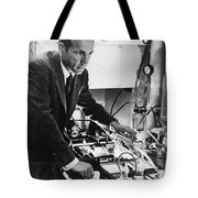 Melvin Calvin, American Chemist Tote Bag