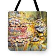 Metal Surface Tote Bag