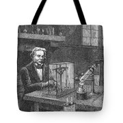 Michael Faraday (1791-1867) Tote Bag