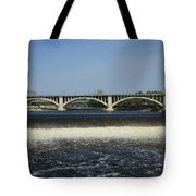 Minneapolis - Saint Anthony Falls Tote Bag