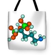 Molecular Model Of Fosamax Tote Bag