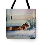 Montana Winter Tote Bag