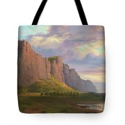Mount Arapiles And The Mitre Rock Tote Bag