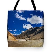 Mountains Of Ladakh Jammu And Kashmir India Tote Bag