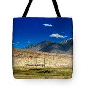 Mountains Of Leh Ladakh Jammu And Kashmir India Tote Bag