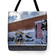 Mural - Downtown Bristol Tennessee/virginia Tote Bag