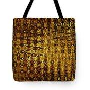 Mushroom Abstract Tote Bag