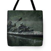 Navy Seals Navigate The Waters Tote Bag