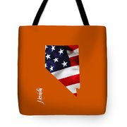 Nevada State Map Collection Tote Bag