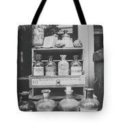 New Orleans Apothecary - Bw Haze Tote Bag