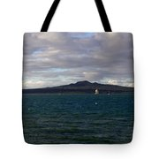 New Zealand - Vessel Departing Auckland Tote Bag