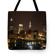 Nightlife In Cleveland Tote Bag