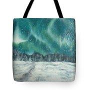 Northern Lights  Tote Bag