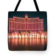 November 2017 Las Vegas Nevada - Scenes Around Bellagio Resort H Tote Bag