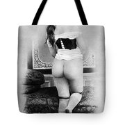 Nude Posing: Rear View Tote Bag