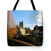 Nunney Church Tote Bag