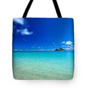 Oahu, Lanikai Beach Tote Bag