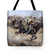 Oklahoma Land Rush, 1889 Tote Bag
