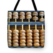 Old Chinese Abacus Tote Bag