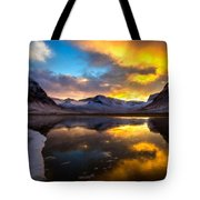 Original Landscape Paintings Tote Bag
