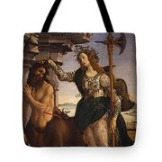 Pallas And The Centaur Tote Bag