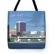 Panoramic View Of Atlantic City, New Jersey Tote Bag