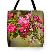 Paradise Apples Flowers Tote Bag