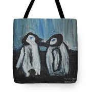 Penguins Tote Bag