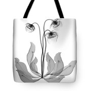 Pitcher Plant Flowers, X-ray Tote Bag