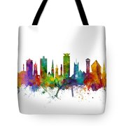 Plymouth England Skyline Tote Bag