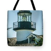 Point Pinos Lighthouse In Monterey California Tote Bag