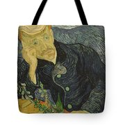 Portrait Of Dr Gachet Tote Bag