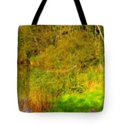 Q Landscape Tote Bag