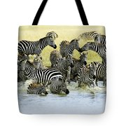 Quenching Their Thirst Tote Bag