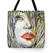 Red Lipstick 081208 Tote Bag