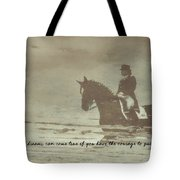 Reflection Quote Tote Bag