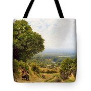 Returning From The Harvest Tote Bag