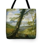 River Landscape Tote Bag