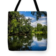 Roath Park Lake Tote Bag