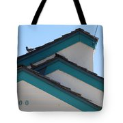 3 Roofs Tote Bag