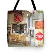 Route 66 - Hackberry General Store Tote Bag
