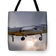 Royal Navy Sea Harrier Tote Bag