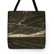 Rural Sunset Beauty Tote Bag